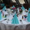 """Hochzeit in """"türkis"""""""