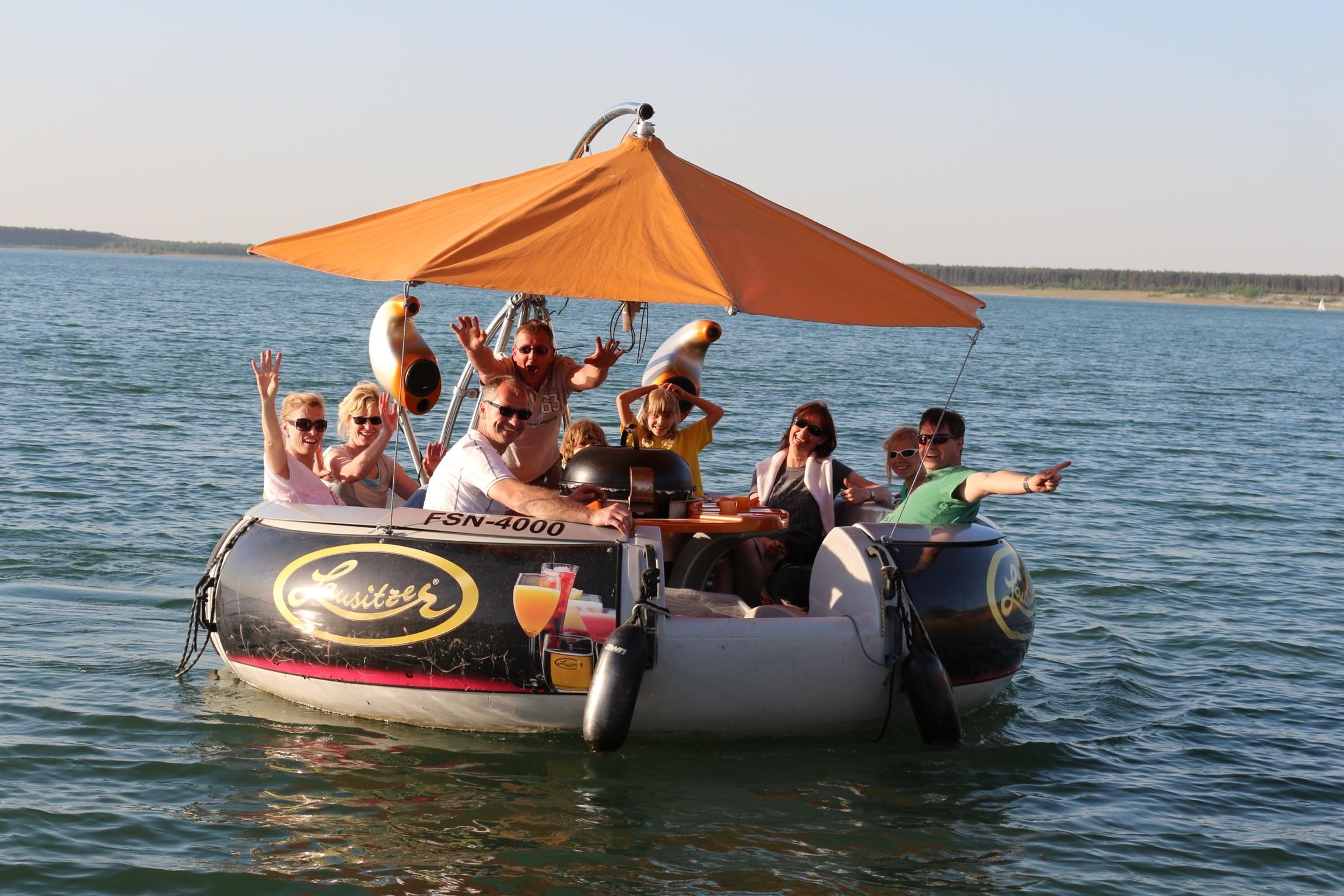 Grill & Chill - Grillen auf dem Wasser!