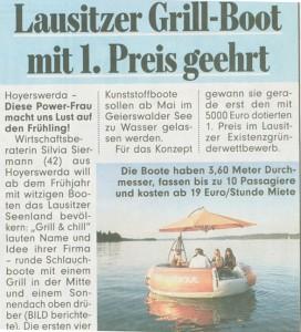 Bild-Zeitung vom 05.01.2009