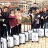 Neapel 2018 Gruppenfoto mit Koffer